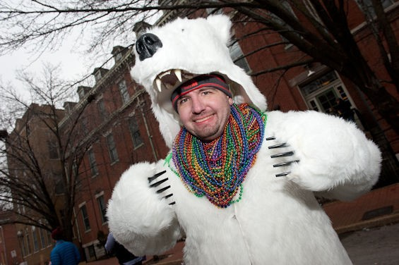 You don't have to dress like a polar bear, but it's not a bad idea. - JON GITCHOFF