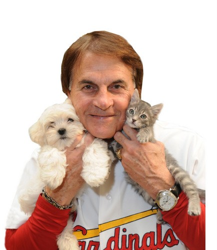 Tony La Russa is bi-petual: He loves dogs AND cats! - PHOTOS VIA ARF