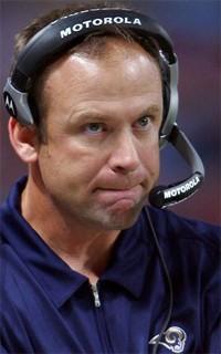 Former Rams Head Coach Scott Linehan