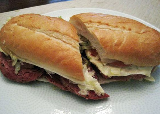 The hot salami at Gioia's Deli. | Ian Froeb