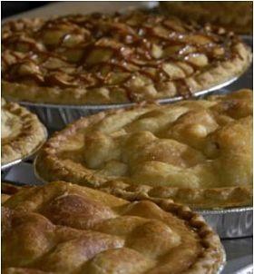 Eckert's pies, but not necessarily filled with Eckert's fruit.