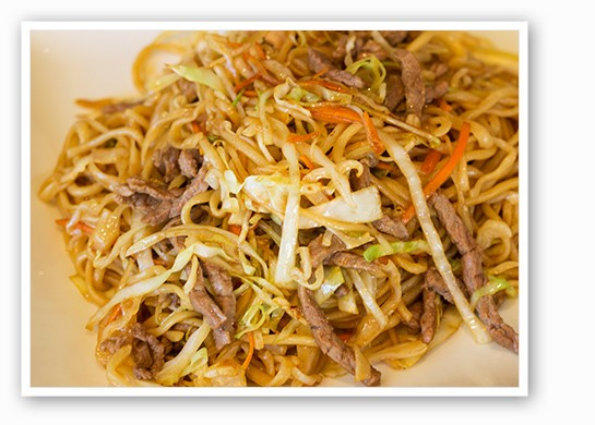 Cooked with shredded veggies. | Mabel Suen