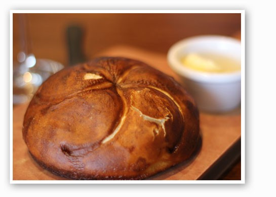Warm pretzel bread. | Nancy Stiles