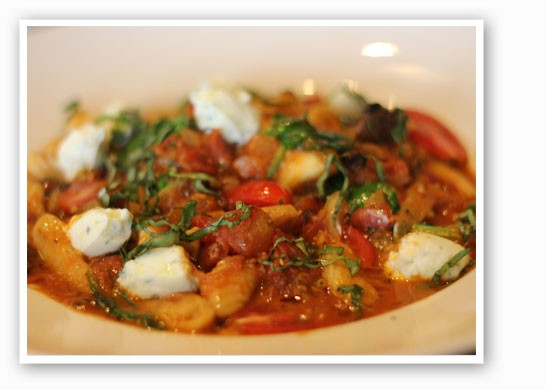 Gnocchi with braised fennel and herb ricotta dolce. | Nancy Stiles