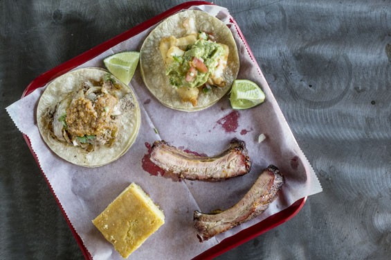 Ribs and tacos at Spare No Rib | Jennifer Silverberg