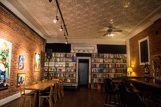 The main floor at Blank Space.