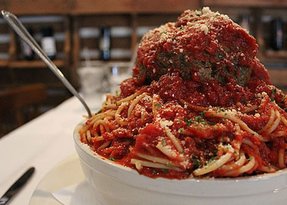 Mama's Pasta Challenge at Mama's on the Hill. | Zach Garrison