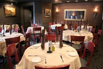 Inside Cafe Napoli in Clayton. | Kelly Hogan