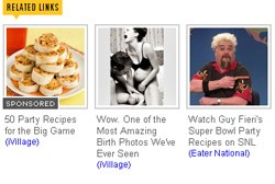 Sandwiched betwixt some tasty treats and faux-Fieri lies some awkwardly staged placebo porn. - EATER.COM