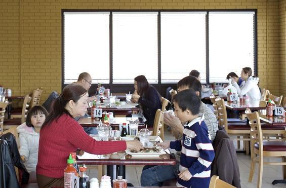 Mama Pho opened inside an old McDonald's last year. - JENNIFER SILVERBERG