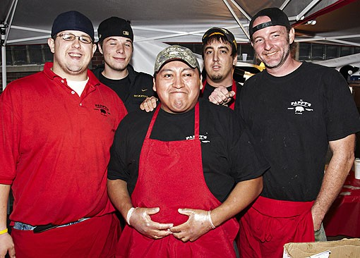 Some of the crew from Pappy's Smokehouse. See more photos here. - PHOTO: STEVE TRUESDELL