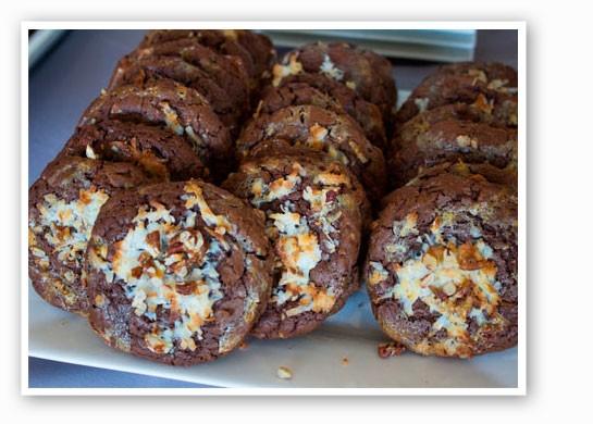German chocolate cookies | Mabel Suen