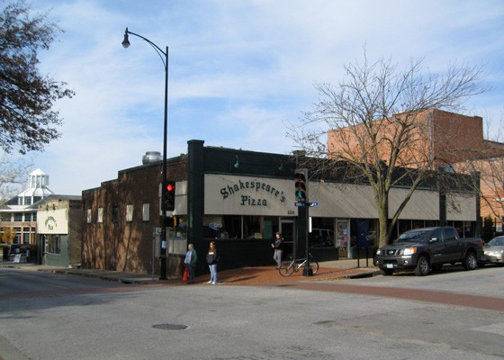 Shakespeare's Pizza opened at the corner of Ninth and Elm in 1973. | Chris Yunker