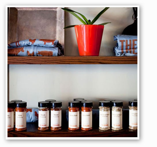 The Block's sauces, spices and jams are perfectly giftable. | Jennifer Silverberg