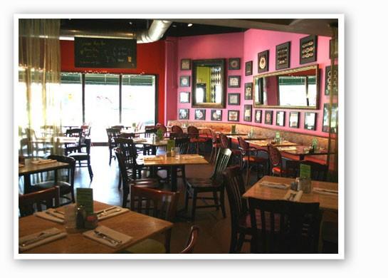 Inside Cyrano's Cafe. | Chrissy WIlmes