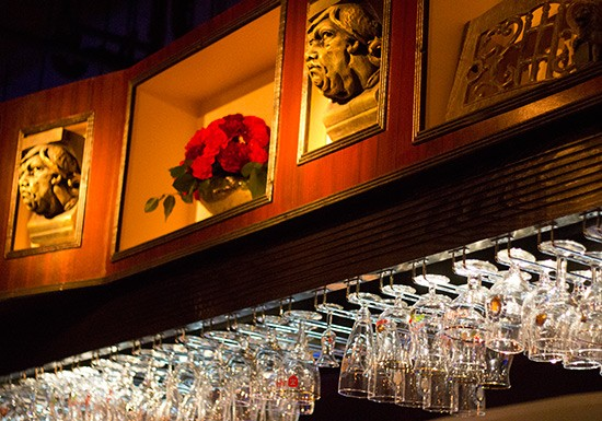 The bar comes equipped with an array of special glasses | Mabel Suen