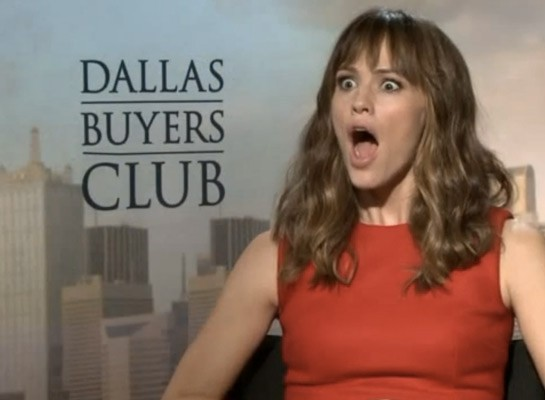 Jennifer Garner when she found out Jimmy Kimmel dissed Imo's. | Screenshot
