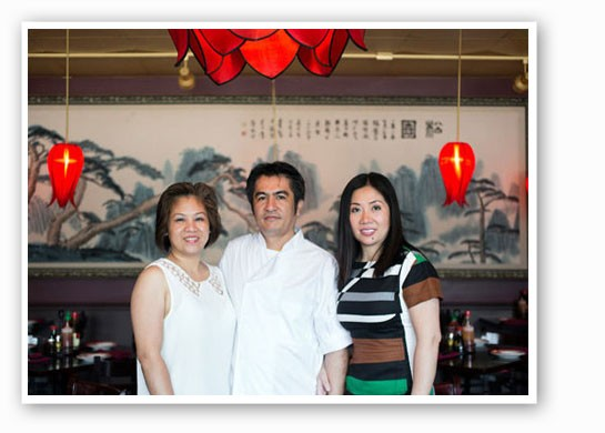 Manager Linh Tu, executive chef Nelson Tran and owner Dee-Dee Tran at Mi Linh. | Jennifer        Silverberg