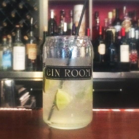Gin and Tonic at the Gin Room at Café Natasha's | Patrick J. Hurley