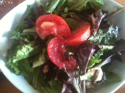 Mad Tomato's house salad. - ROBIN WHEELER
