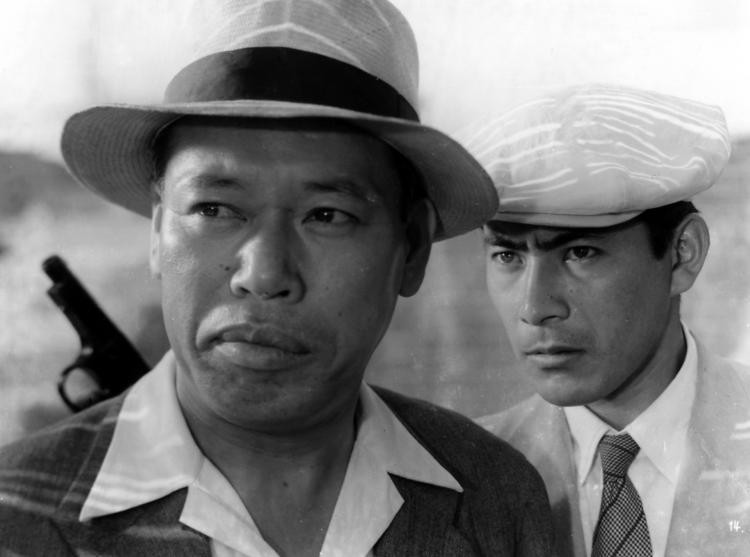 Takashi Shimura and Toshiro Mifune play two hardboiled detectives in post-WWII Tokyo. - IMAGE SOURCE