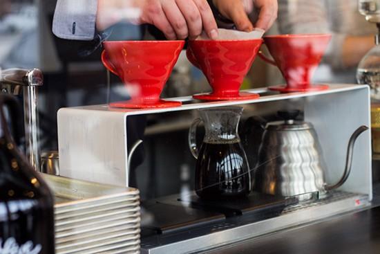 Drip coffee.