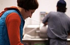 Jenny Cleveland in the Cleveland-Heath kitchen | Jennifer Silverberg