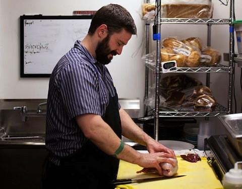 Eric Heath in the kitchen | Jennifer Silverberg