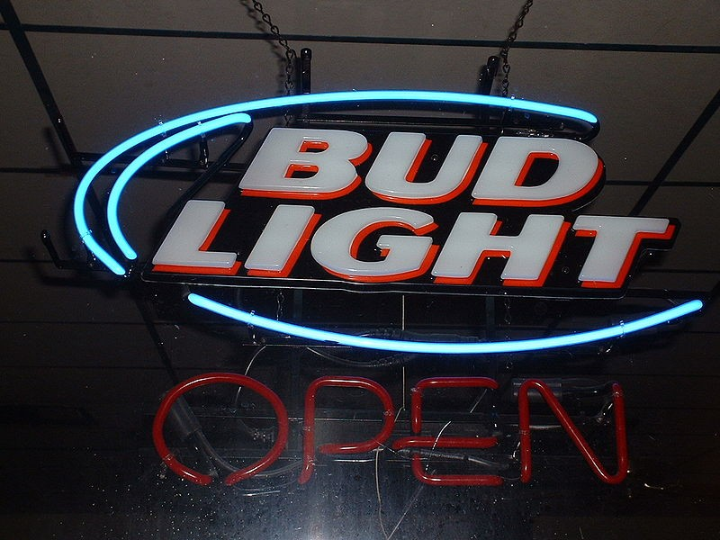"Bud Light? Only in cans. Open to the public? Who knows. - USER ""RENJISHINO,"" WIKIMEDIA COMMONS"