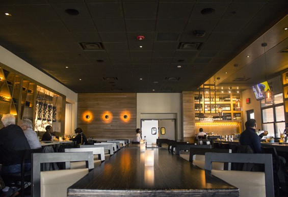 Inside Bonefish Grill. | Mabel Suen