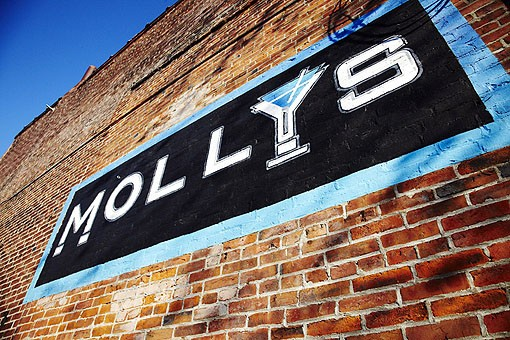 The exterior of Molly's in Soulard, at 808-816 Geyer Avenue. See more photos from Molly's in our slideshow. - PHOTO: STEVE TRUESDELL