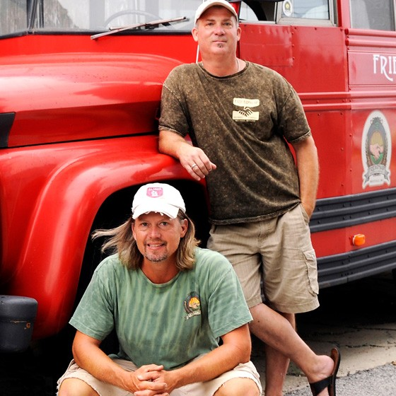 Friendship Brewing's Brian Nolan and Dan Belcher. | Courtesy of Friendship Brewing