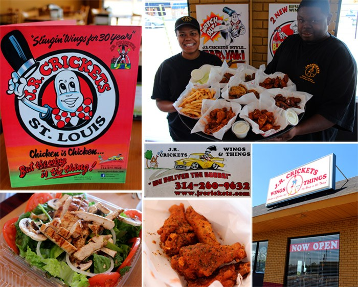 "J.R. Crickets owners Angela West and Dajuan Woods present a smorgasbord of ""wings and things."" - MABEL SUEN"