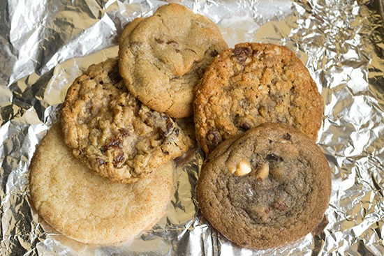 Classic cookies include the snickerdoodle, oatmeal raisin and more.