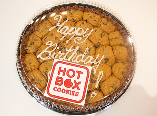A cookie cake.
