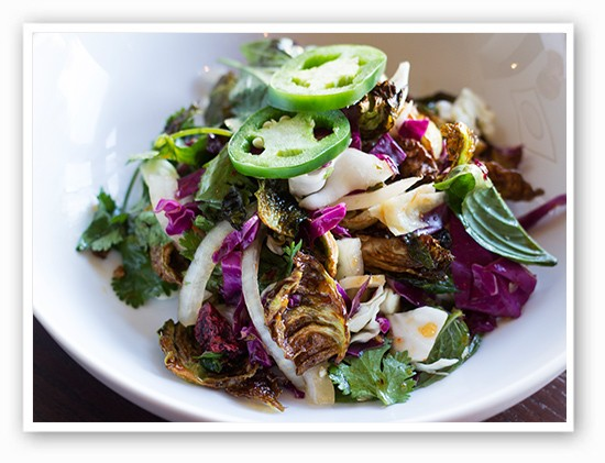 Brussells sprouts salad | Mabel Suen