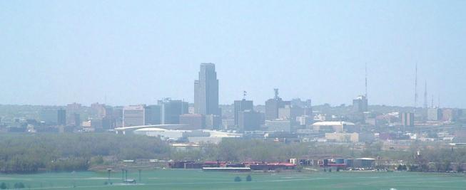 "The Omaha skyline - USER ""MAWHAMBA,"" WIKIMEDIA COMMONS"