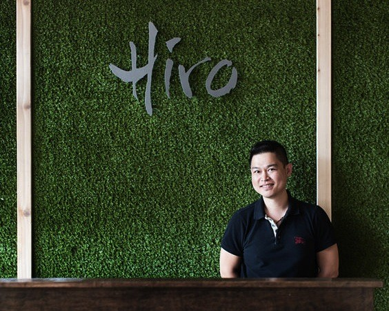 Bernie Lee, owner of Hiro Asian Kitchen. | Jennifer Silverberg
