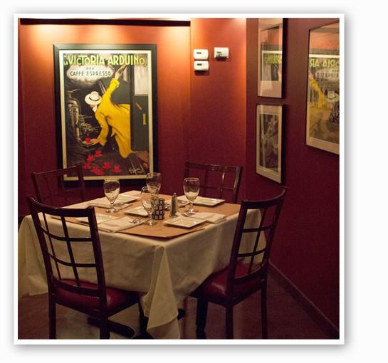 The dining room at Vito's. | Zoe Kline