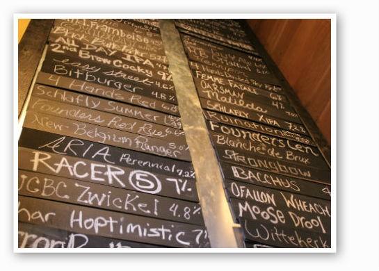 iTap - CWE's impressive beer list. | Pat Kohm