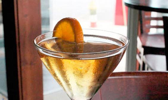 Modesto's The Armada. Not your typical dry martini. - EVAN C. JONES