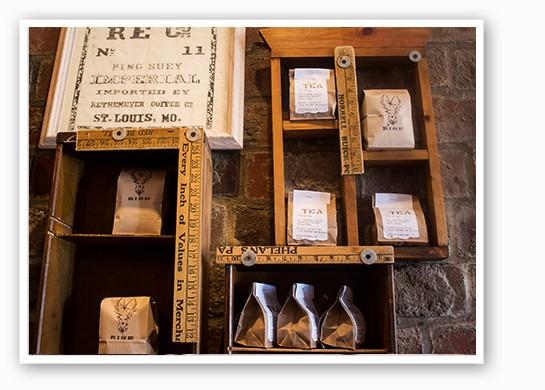 Goshen coffee and ReTrailer tea. | Mabel Suen