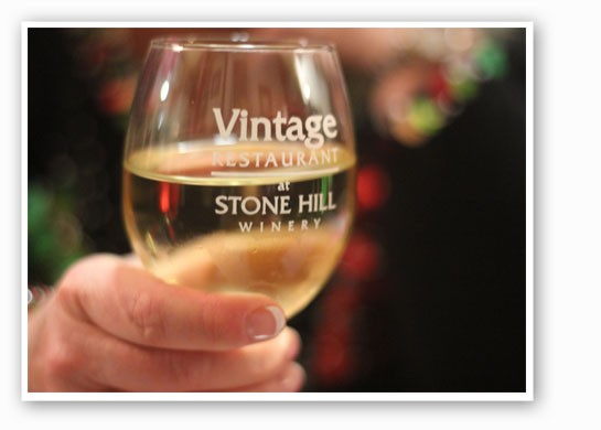 Stone Hill's Chardonel. | Nancy Stiles