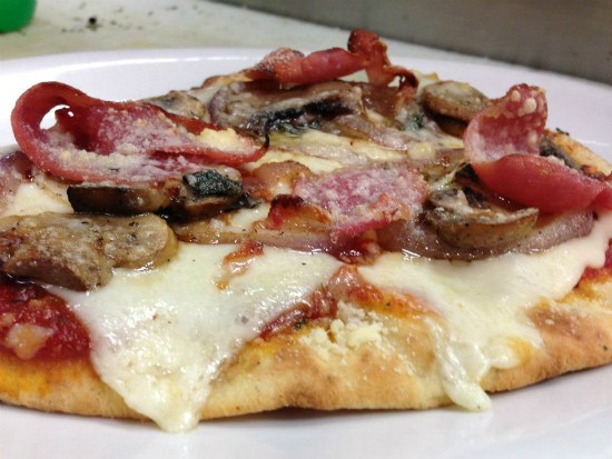 Pizza at Slice of the Hill. - IMAGE VIA