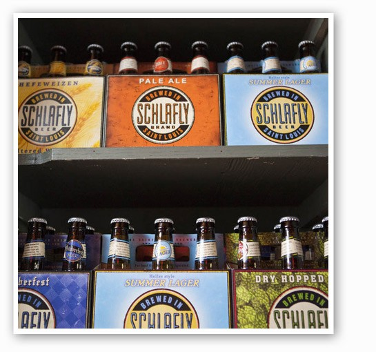Are you the product of Schlafly -- just like these beers? | RFT Photo
