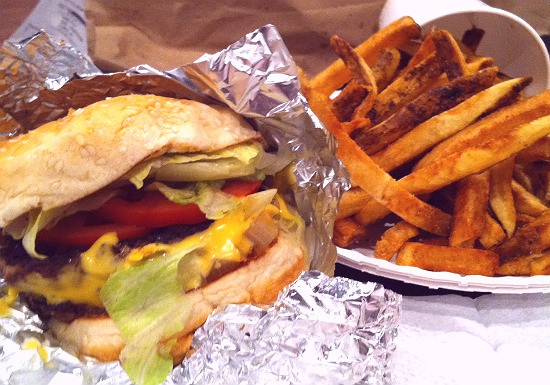 Guess Where I'm Eating this Cheeseburger and French Fries and Win $10 to La  Tropicana Market & Cafe [Updated]! | Food Blog