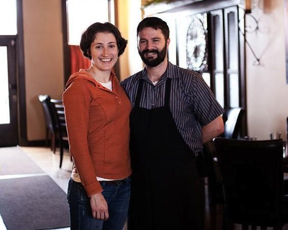 Jennifer Cleveland and her partner, Ed Heath | Jennifer Silverberg