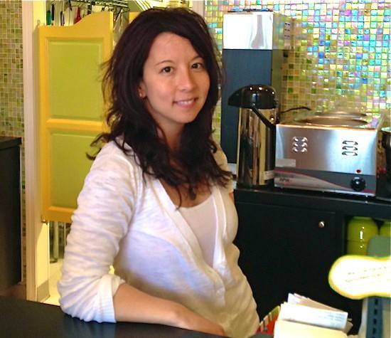 Natasha Kwan, owner of Frida's Deli in University City - COURTESY: FRIDA'S DELI