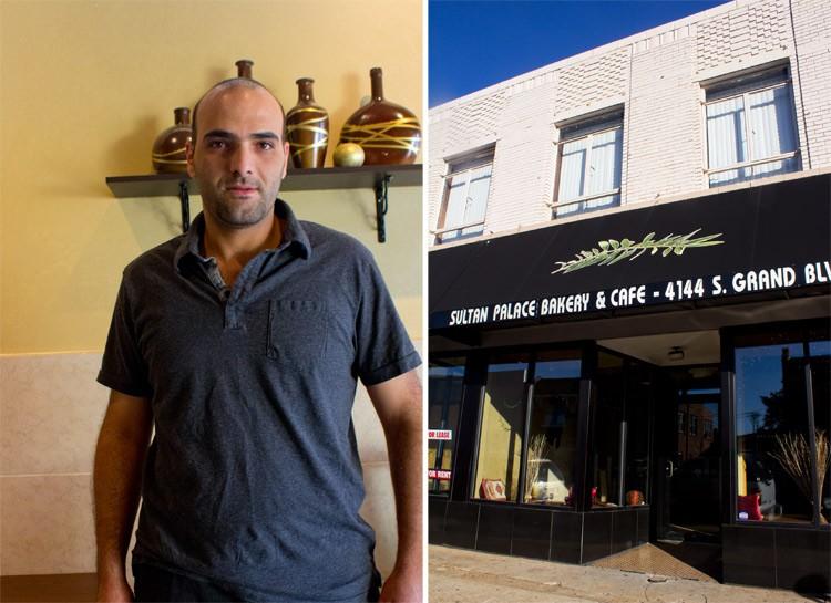 Chef-owner Sufyan Nakhlah. - MABEL SUEN