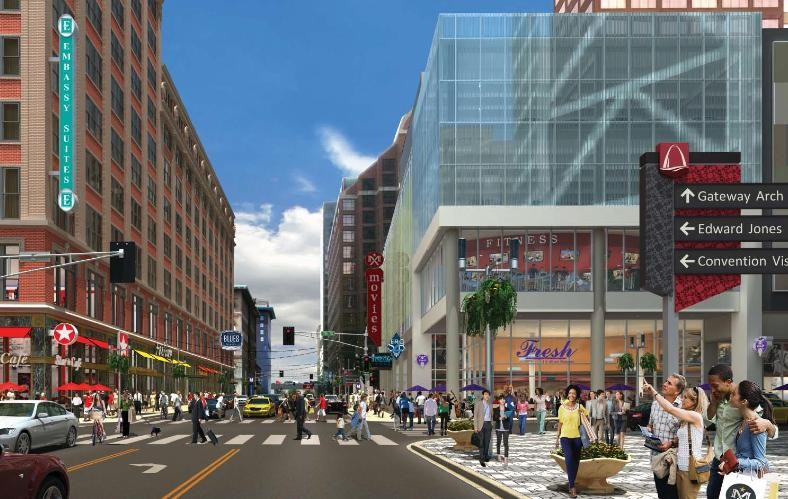 A rendering of the new Mercantile Exchange project downtown - COURTESY: STANDPOINT PUBLIC AFFAIRS